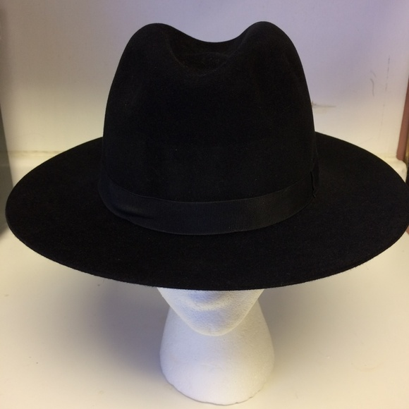 453fdcc41b7 Bailey Other - Bailey Black Mens Dress Hat Size Large